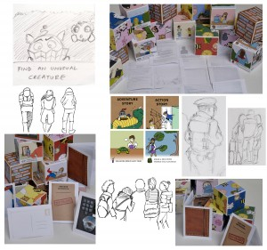 Some examples of the work I've created for the projects I've been involved in.