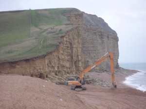 Hive Beach and Digger